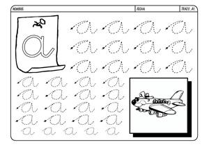 letras para repasar fichas de lectoescritura para imprimir seleccion ...