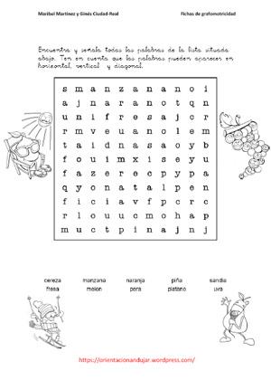 grupos de letras: