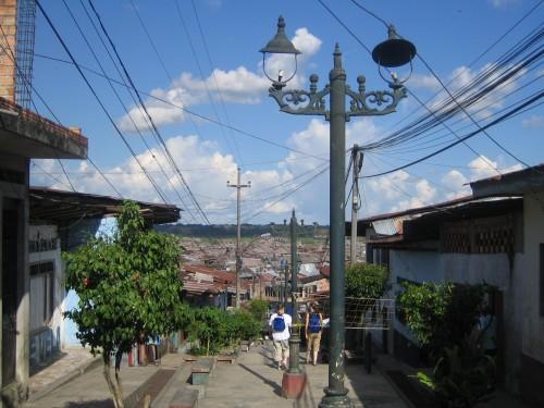 Hacia el barrio de Belen