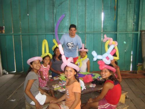 Taller de gobloflexia Barrio de Belen Iquitos (Amazonas) Perú