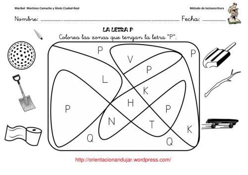 Método De Lectoescritura Consonante P P Orientacion