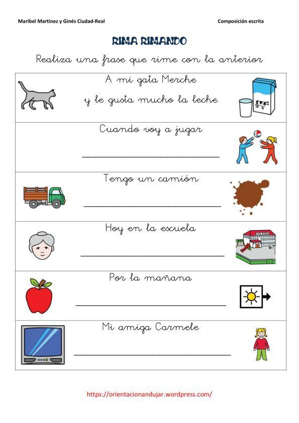 Rimas Para Ninos De Preescolar