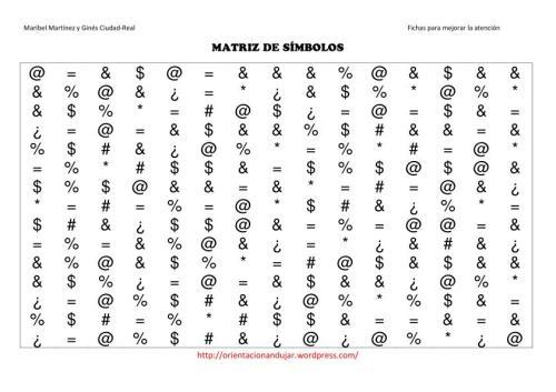 matriz de simbolos mediana-1