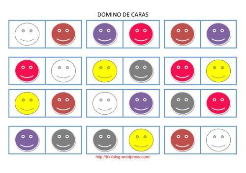 DOMINO DE CARAS