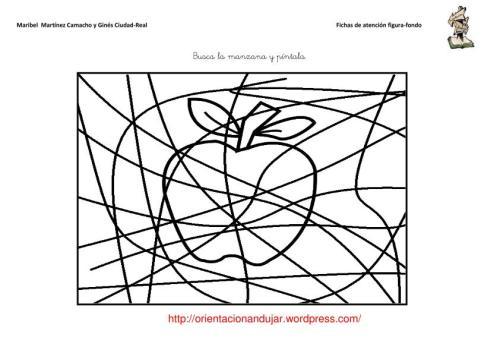 Materiales Atención; Figura-fondo -Orientacion Andujar