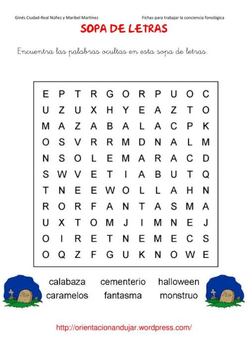 sopa de letras halloween-1