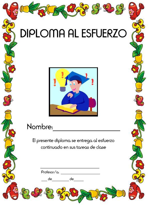 Word Diploma De Reconocimiento