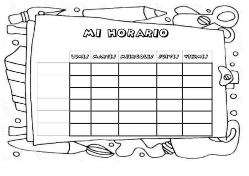 Cuaderno de trabajo memonotas plantillas semanales for Horario oficina de empleo