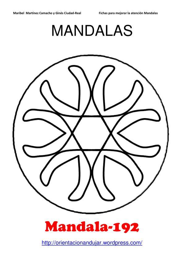 Nuevos Mandalas; Materiales para trabajar la Atención. 200 ...