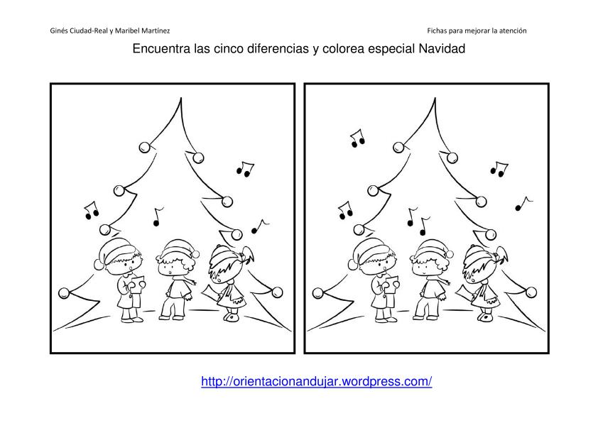Dorable Navidad Hojas De Colorear De Matemáticas Elaboración ...