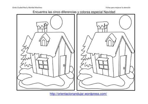 las diferencias entre dos imagenes algunas tienen cinco diferencias y ...