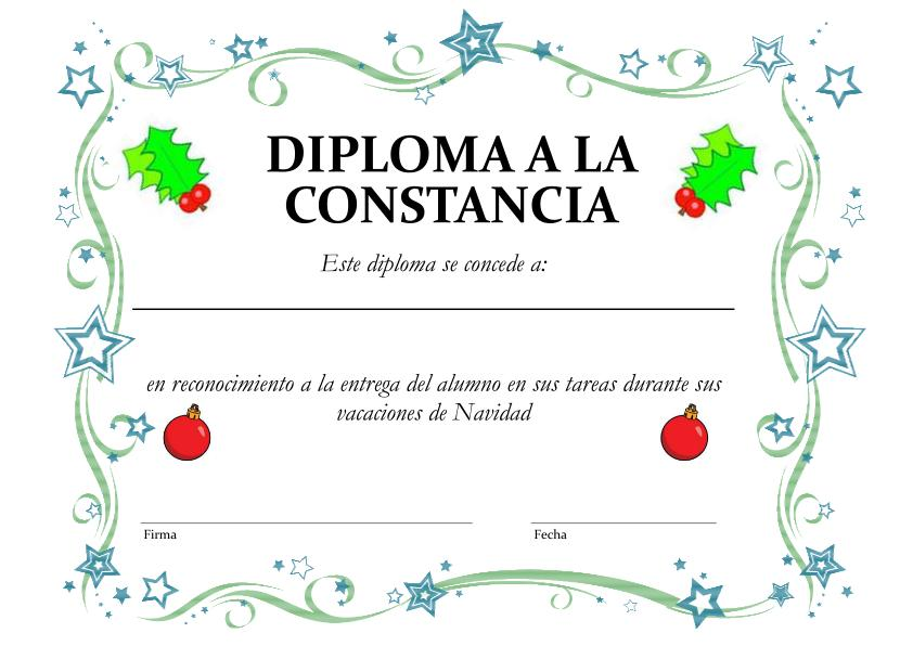 ... navideños además de diplomas y fichas de recompensa especial Navidad