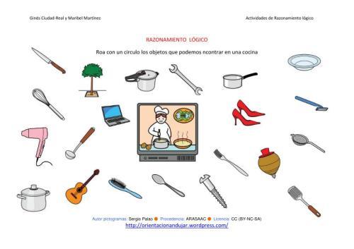Orientaci n and jar recursos educativos - Objetos de cocina ...