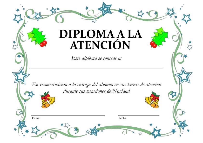 GEA EDUCADORES: Nuevos Mandalas Navideu00f1os con diplomas y fichas de ...